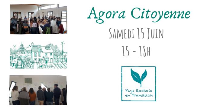 Participez à l'Agora le 15 juin de 15h à 18h- Comment atteindre l'autonomie alimentaire dans le Pays Rochois?