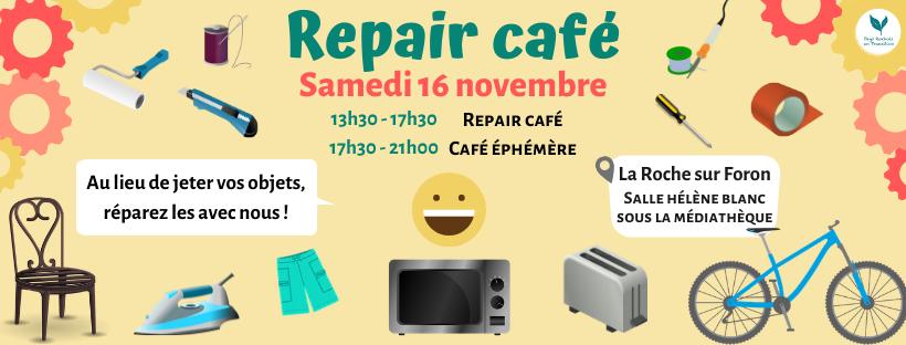 Venez participer à notre premier Repair Café