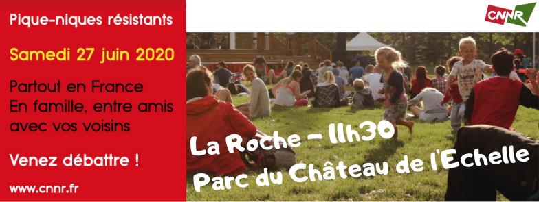 Les Pique-Niques Résistants des Jours Heureux – 27 juin 2020 – La Roche-sur-Foron