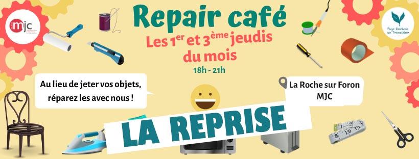Le Repair Café se déconfine à partir du 18 juin !